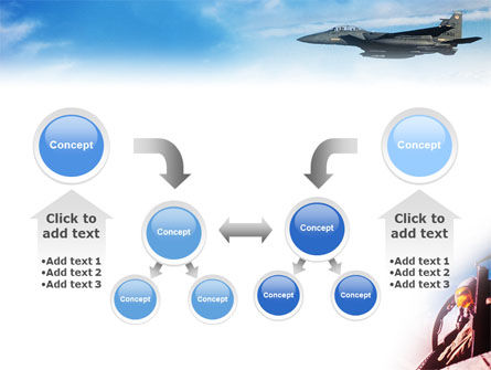 Fighter Aircraft PowerPoint Template Slide 19