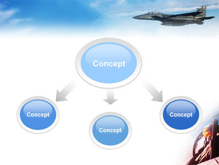 Fighter Aircraft PowerPoint Template Slide 4