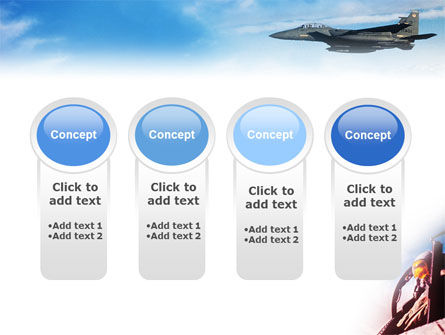 Fighter Aircraft PowerPoint Template Slide 5