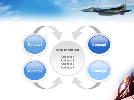 Fighter Aircraft PowerPoint Template Slide 6