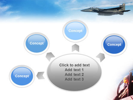 Fighter Aircraft PowerPoint Template Slide 7