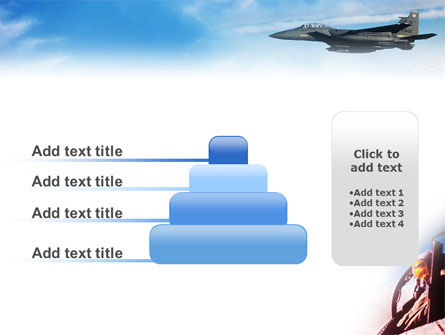 Fighter Aircraft PowerPoint Template Slide 8