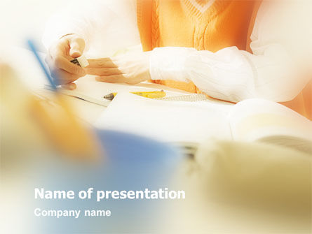 Work Place PowerPoint Template, 01749, Business Concepts — PoweredTemplate.com