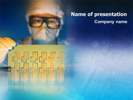 Technology and Science: Technology Development PowerPoint Template #01750