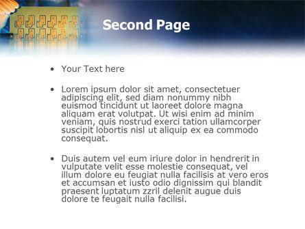 Technology Development PowerPoint Template, Slide 2, 01750, Technology and Science — PoweredTemplate.com