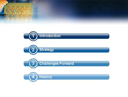 Technology Development PowerPoint Template, Slide 3, 01750, Technology and Science — PoweredTemplate.com