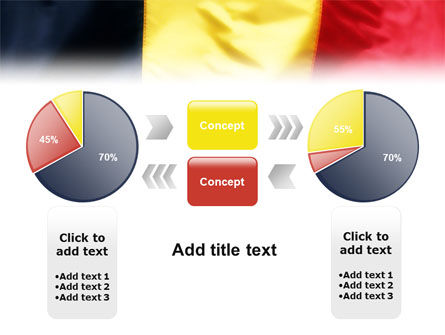 Belgian Flag PowerPoint Template Slide 11