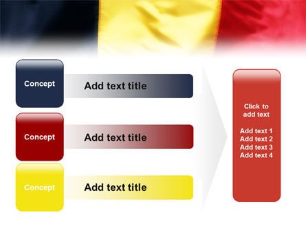 Belgian Flag PowerPoint Template Slide 12