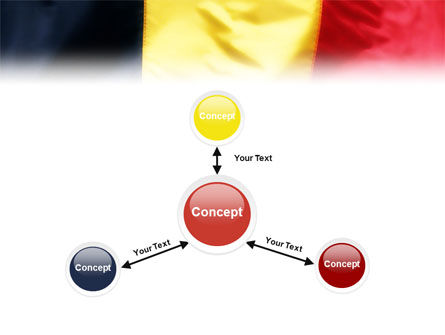 Belgian Flag PowerPoint Template Slide 14