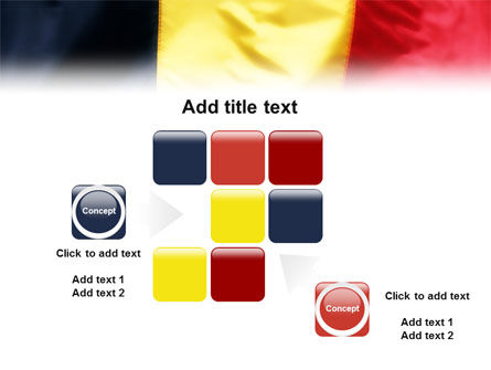 Belgian Flag PowerPoint Template Slide 16