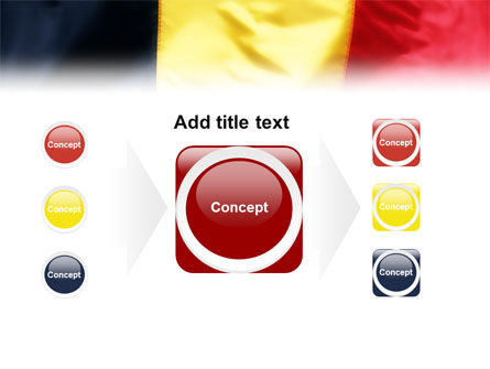 Belgian Flag PowerPoint Template Slide 17