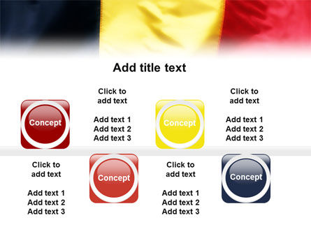 Belgian Flag PowerPoint Template Slide 19