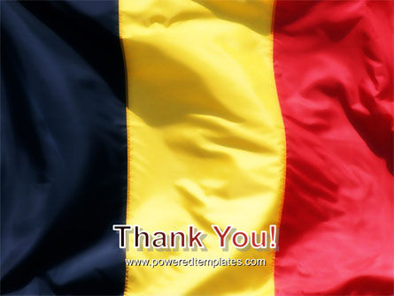 Belgian Flag PowerPoint Template Slide 20
