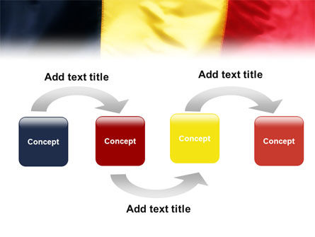 Belgian Flag PowerPoint Template Slide 4