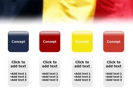 Belgian Flag PowerPoint Template Slide 5
