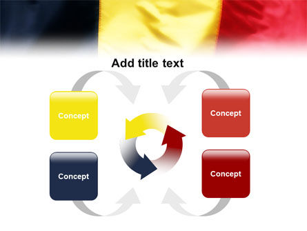 Belgian Flag PowerPoint Template Slide 6