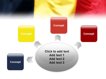 Belgian Flag PowerPoint Template Slide 7