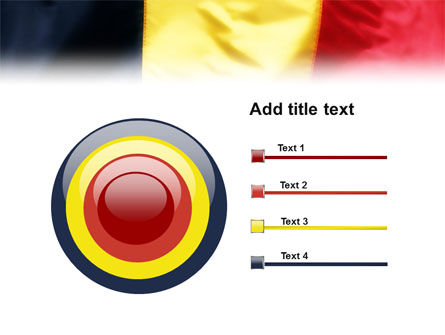 Belgian Flag PowerPoint Template Slide 9