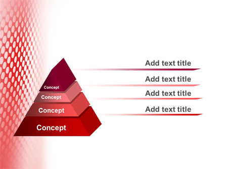 Perforated Red PowerPoint Template Slide 10