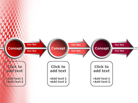 Perforated Red PowerPoint Template Slide 11