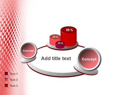 Perforated Red PowerPoint Template Slide 13