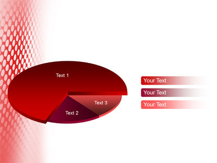 Perforated Red PowerPoint Template Slide 14