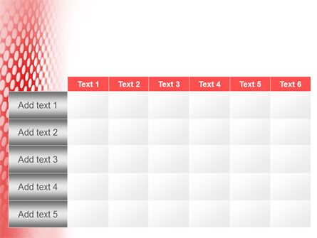 Perforated Red PowerPoint Template Slide 15