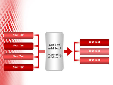 Perforated Red PowerPoint Template Slide 16