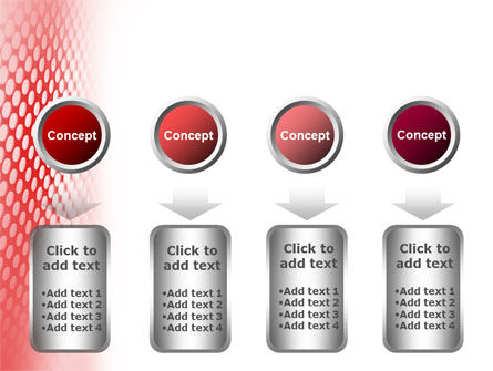 Perforated Red PowerPoint Template Slide 18