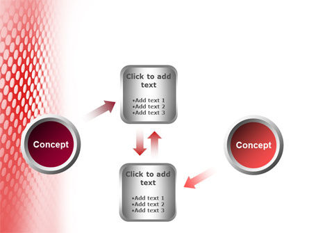 Perforated Red PowerPoint Template Slide 19