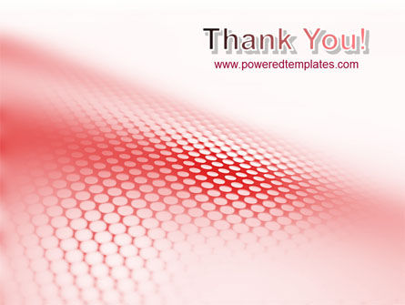 Perforated Red PowerPoint Template Slide 20