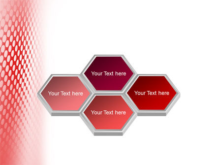 Perforated Red PowerPoint Template Slide 5