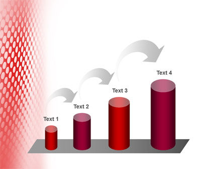 Perforated Red PowerPoint Template Slide 7