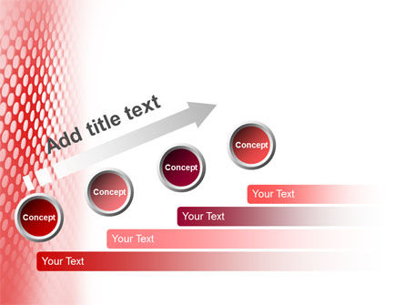 Perforated Red PowerPoint Template Slide 9