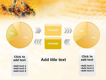 Cells and Bees PowerPoint Template Slide 11