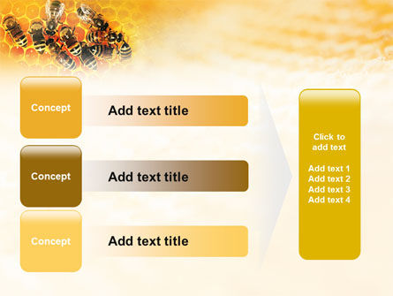 Cells and Bees PowerPoint Template Slide 12