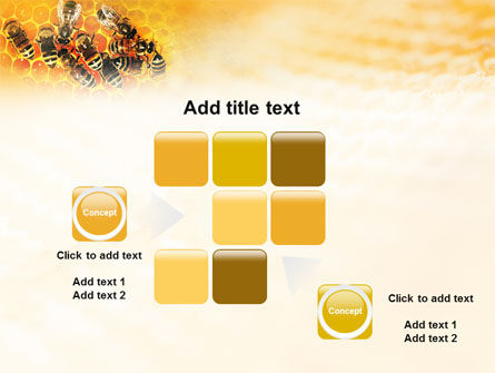 Cells and Bees PowerPoint Template Slide 16