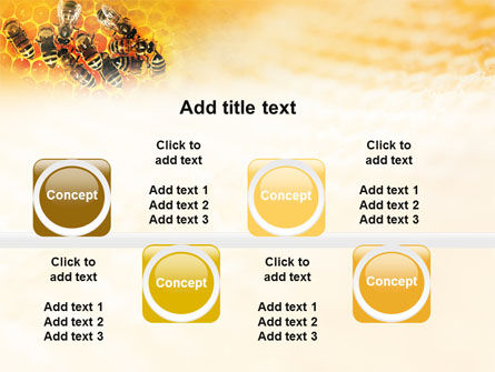 Cells and Bees PowerPoint Template Slide 19