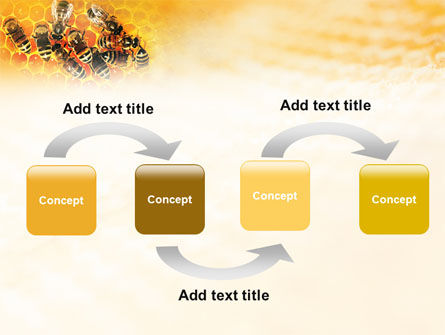 Cells and Bees PowerPoint Template Slide 4