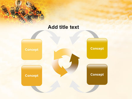 Cells and Bees PowerPoint Template Slide 6
