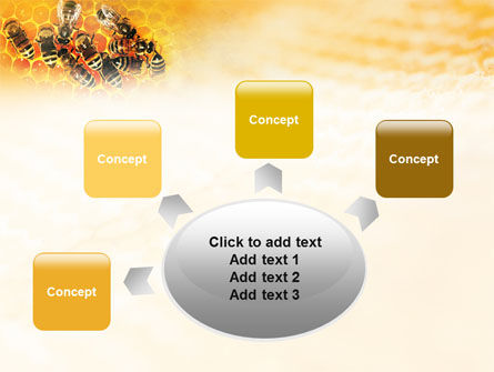 Cells and Bees PowerPoint Template Slide 7