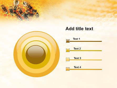 Cells and Bees PowerPoint Template Slide 9