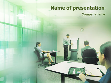Consultative PowerPoint Template, 01759, Consulting — PoweredTemplate.com