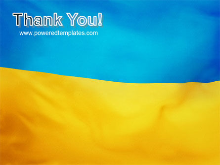 Ukrainian Flag PowerPoint Template Slide 20