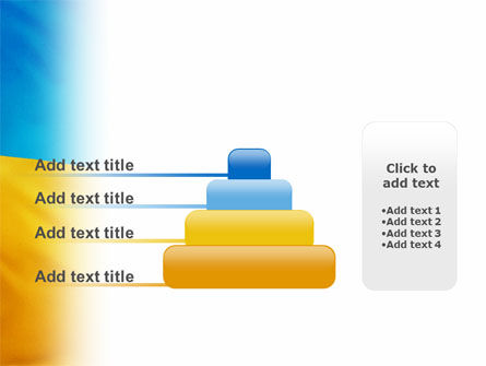 Ukrainian Flag PowerPoint Template Slide 8