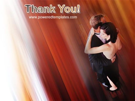 Dancing Couple PowerPoint Template Slide 20