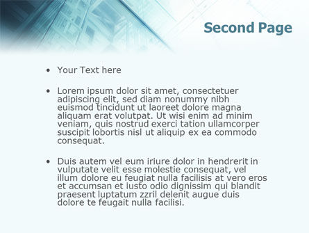 Elevator PowerPoint Template, Slide 2, 01763, Construction — PoweredTemplate.com