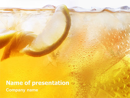 Food & Beverage: Cocktail Party PowerPoint Template #01765