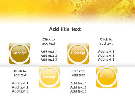 Cocktail Party PowerPoint Template Slide 19