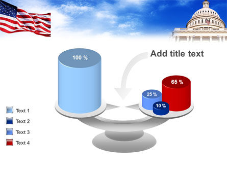 United States Capitol Building PowerPoint Template Slide 10